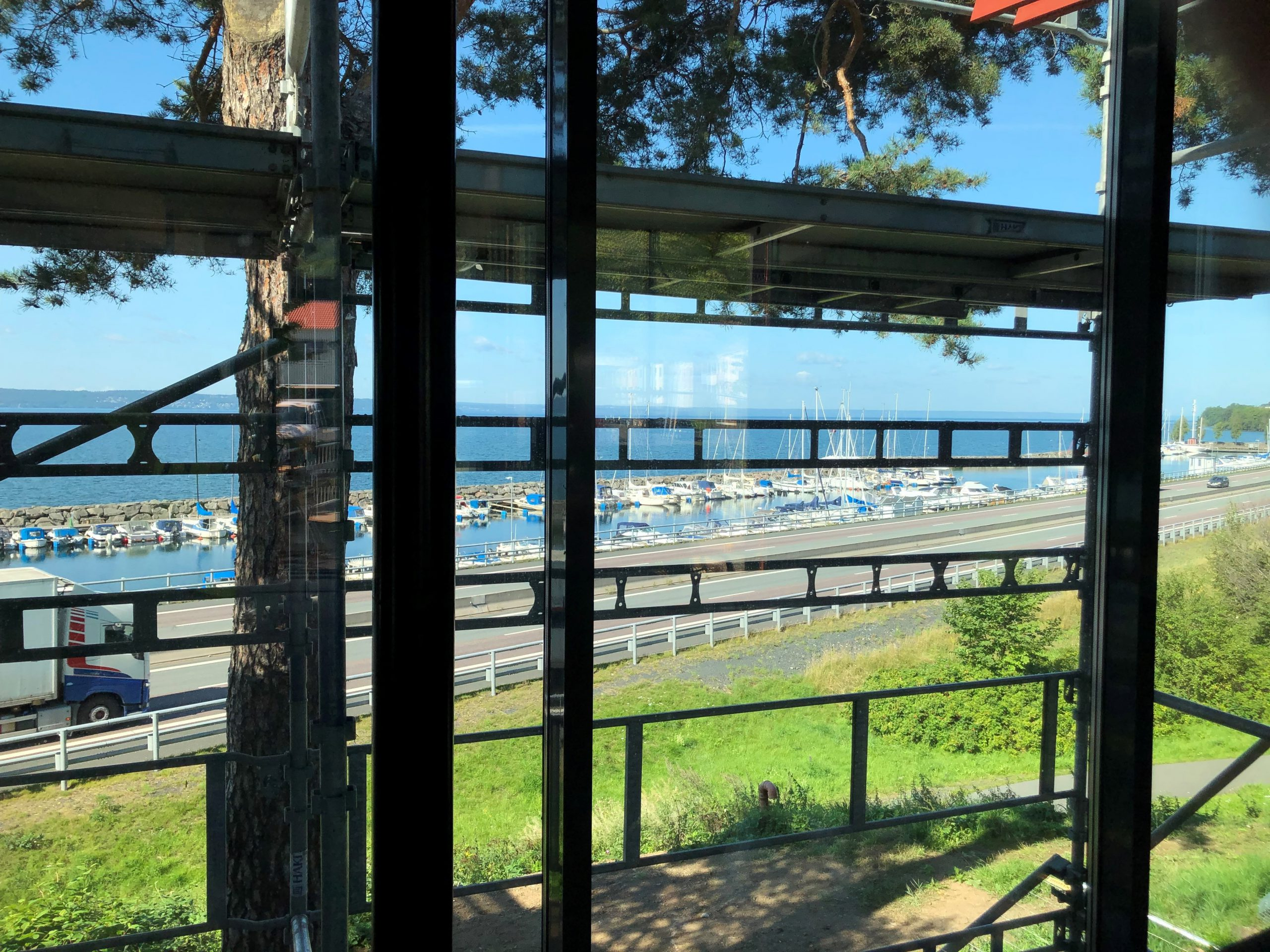 Utsikt från restaurangen Kroatorpet